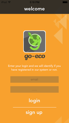 Go-Eco Login