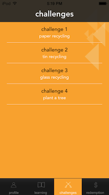Go-Eco Challenges