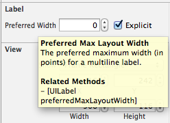 Automatic Preferred Max Layout Width is not available on iOS versions prior to 8.0