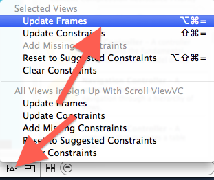 Update Constraints